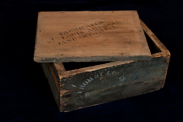 Civil War Ammo Box